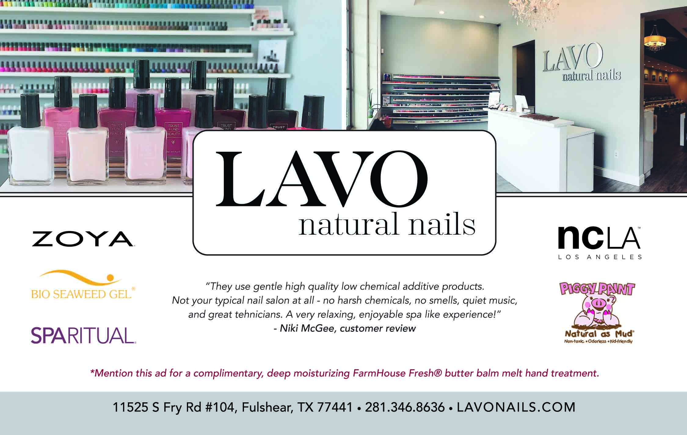 LAVO Natural Nails Ad